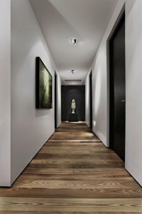 Modern architecture corridors designs ideas. | New home designs