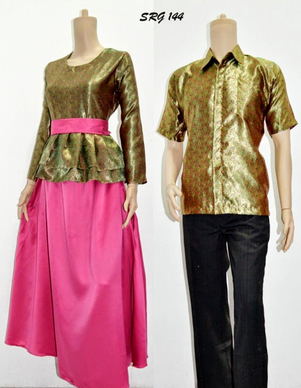 Batik Sarimbit Baju Batik Pasangan Gamis