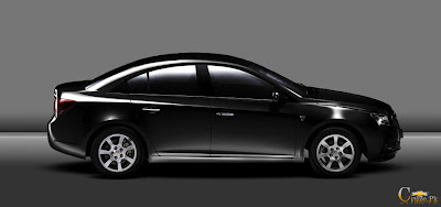 Chevrolet Cruze Black 2012