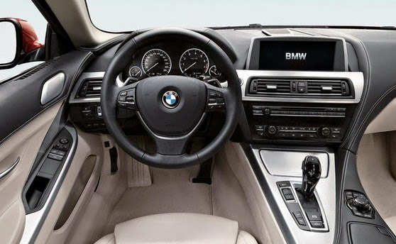 2017 BMW 6 interior