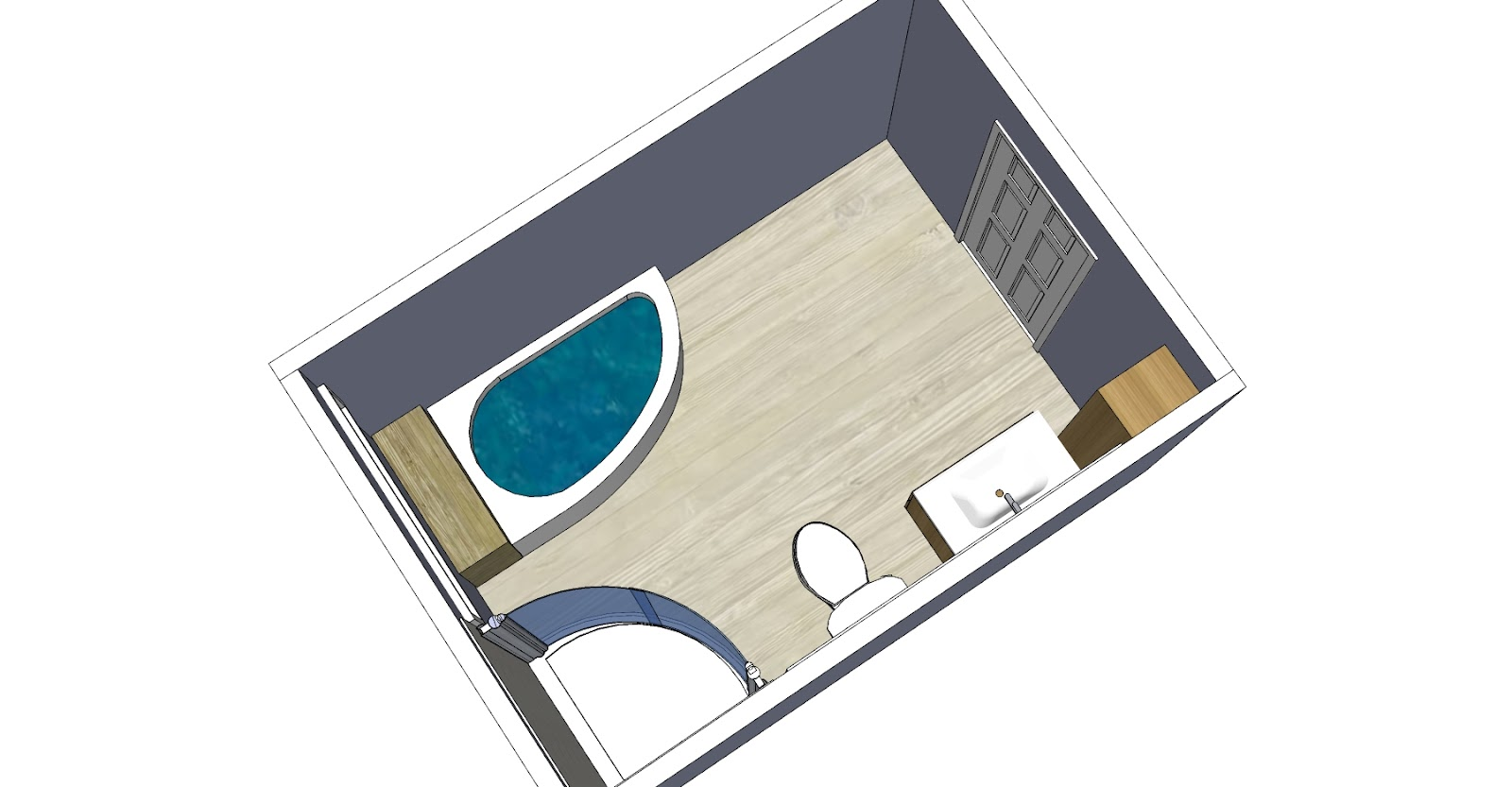 6 X 6 Bathroom Layout http://bayviewbathroom.blogspot.com/