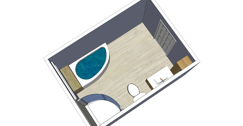 Room layouts only - color hasn't been added to walls - the gray/blue  title=