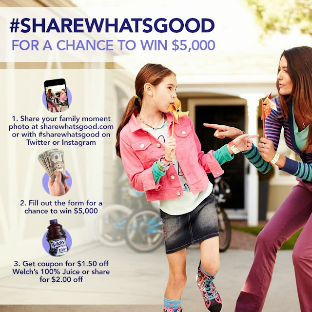 #ShareWhatsGood for a chance at $5000 #sponsored