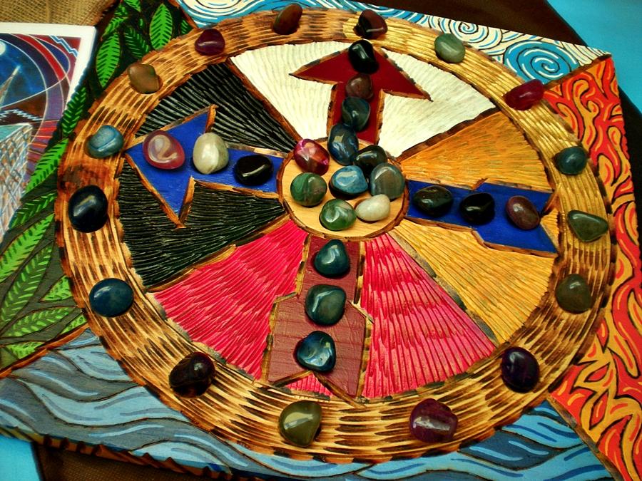Artesanato Xamanico ~ Caminho Nativo Ancestral A Dança da Roda Medicinal