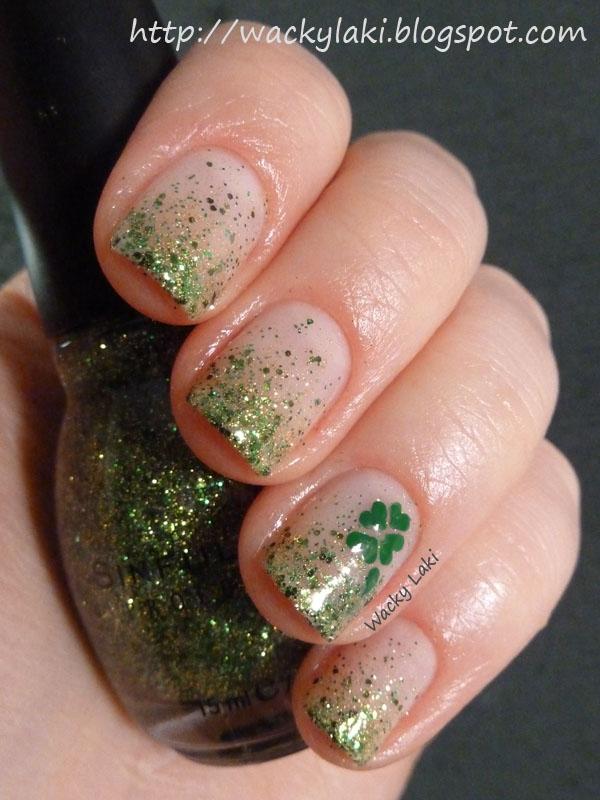 Wacky Laki: St. Patrick\'s Day Manicure