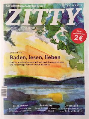 Tidningen Zitty – nu varje vecka