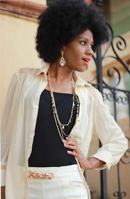 cabelo black power, estilo black power