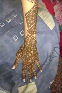 amazing arab hand henna designs for girls