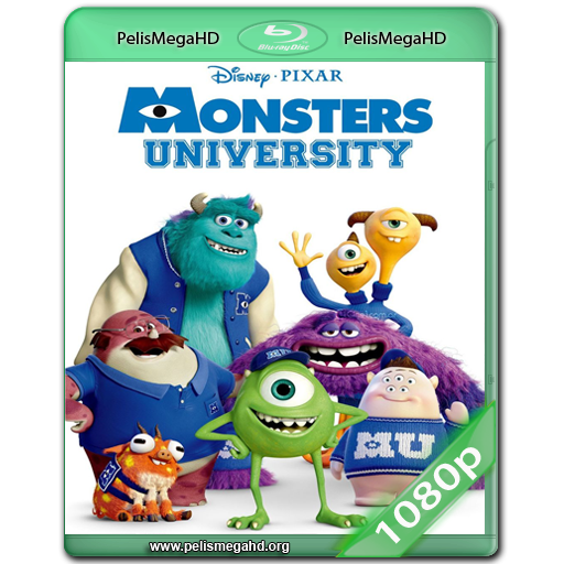 MONSTERS UNIVERSITY (2013) WEB-DL 1080P HD MKV ESPAÑOL (CASTELLANO – INGLÉS)