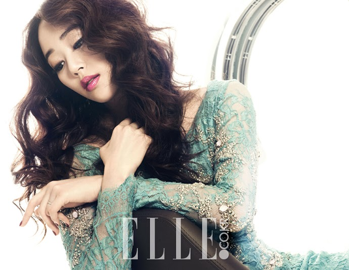 Kim Hyo Jin - Elle Magazine January Issue 2014