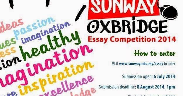 Oxbridge essay