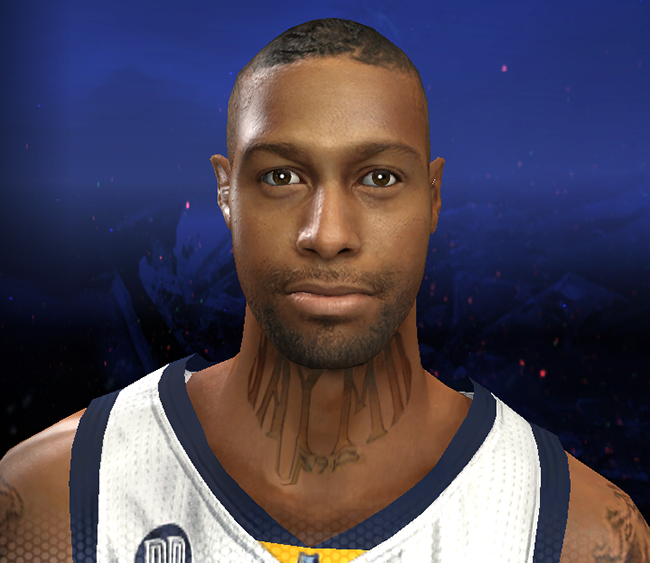 NBA 2K14 James Johnson Cyberface Patch