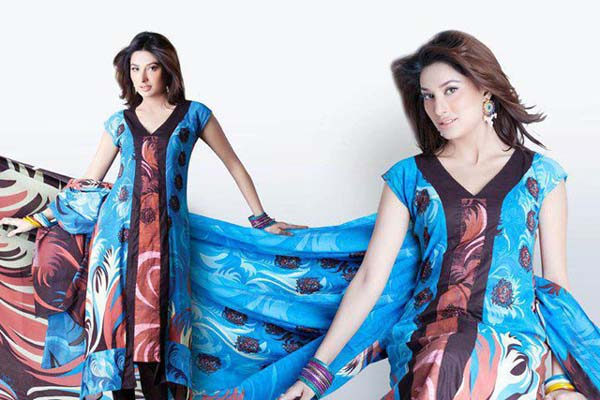 Latest Party Wear Dresses 2013