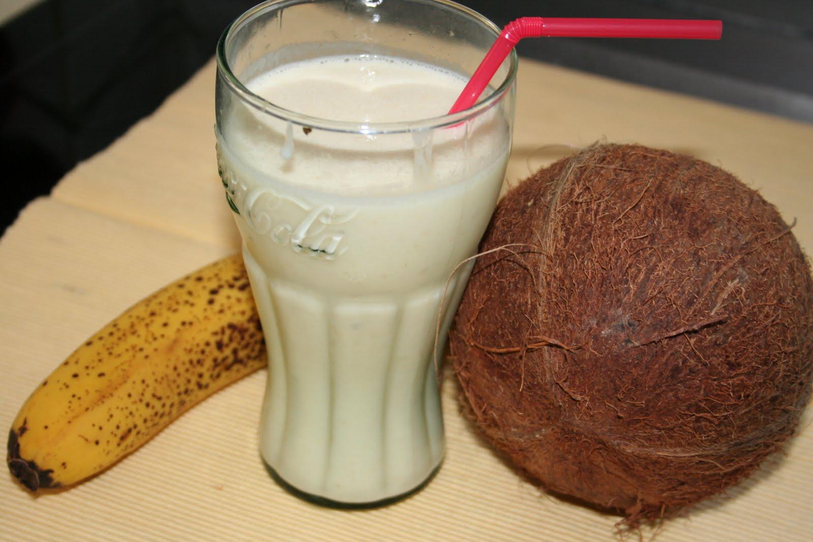 de la soupe au dessert milkshake banane coco