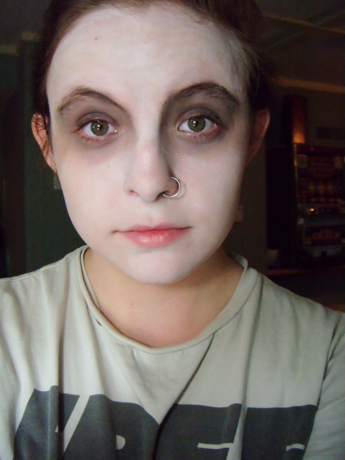 kennyista halloween make up dead
