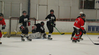 ian sands hockey goalie