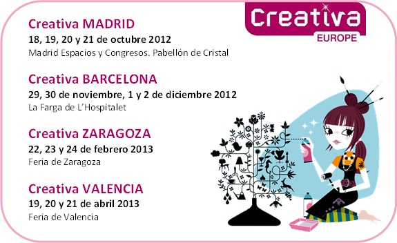 Creativa en Madrid!!