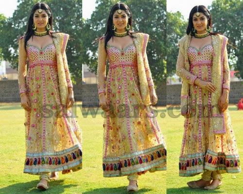 Sakshi Chowdary Designer Salwar