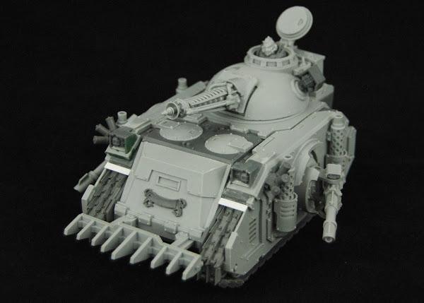 Warhammer 30k Sons of Horus  SOH+Predator+WIP+02
