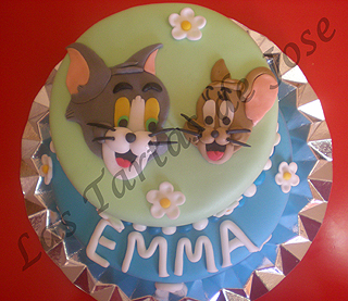 Tarta Tom y Jerry. Las Tartas de Jose. Castellón.