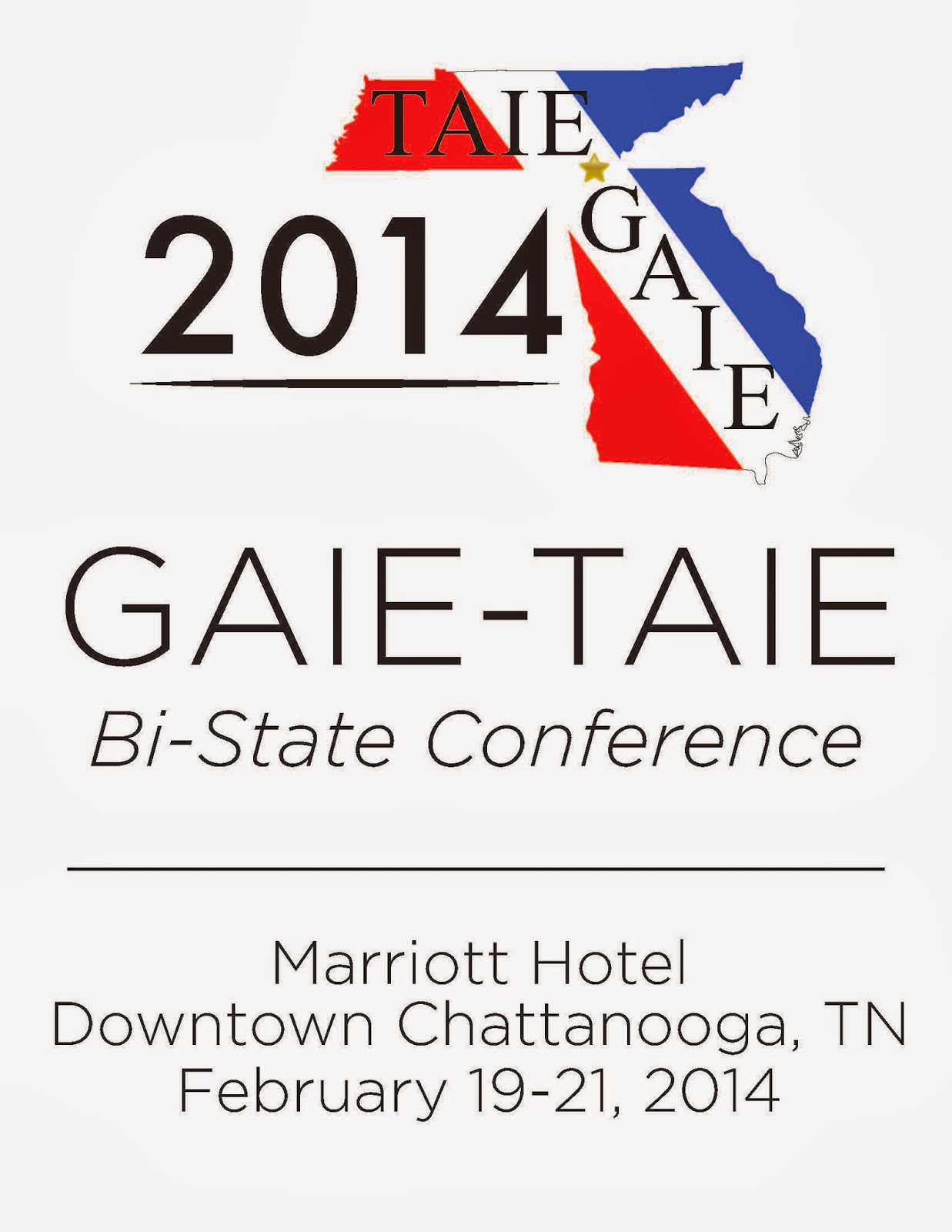 GAIE TAIE Bi State Conference 2014 Progam