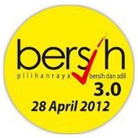 Serius 1Malaysia: ABU Kata Kami Tak Nak Kotor! Kami Mahu Bersih 3.0! (Serious 1Malaysia: ABU Says We Don't Want Dirty! We Want Bersih 3.0!) www.klakka-la.blogspot