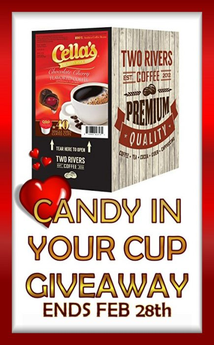 Two Rivers Coffee Candy in Your Cup Giveaway