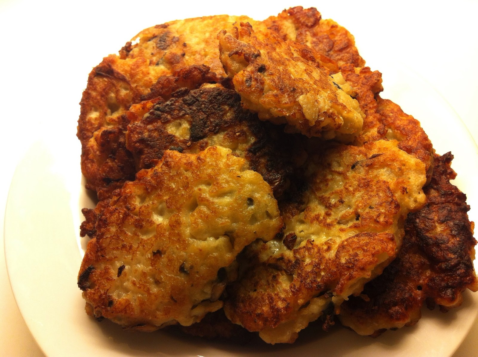 Risotto fritter