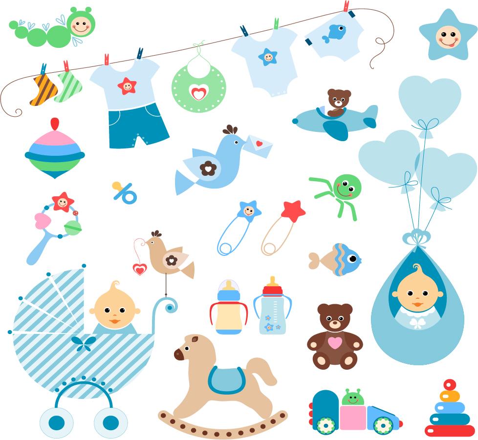 Free Baby Vector Graphics