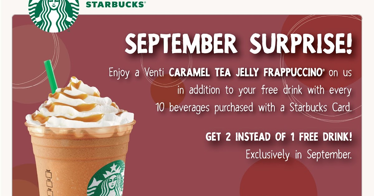 How To Get Free Starbucks Birthday Drink