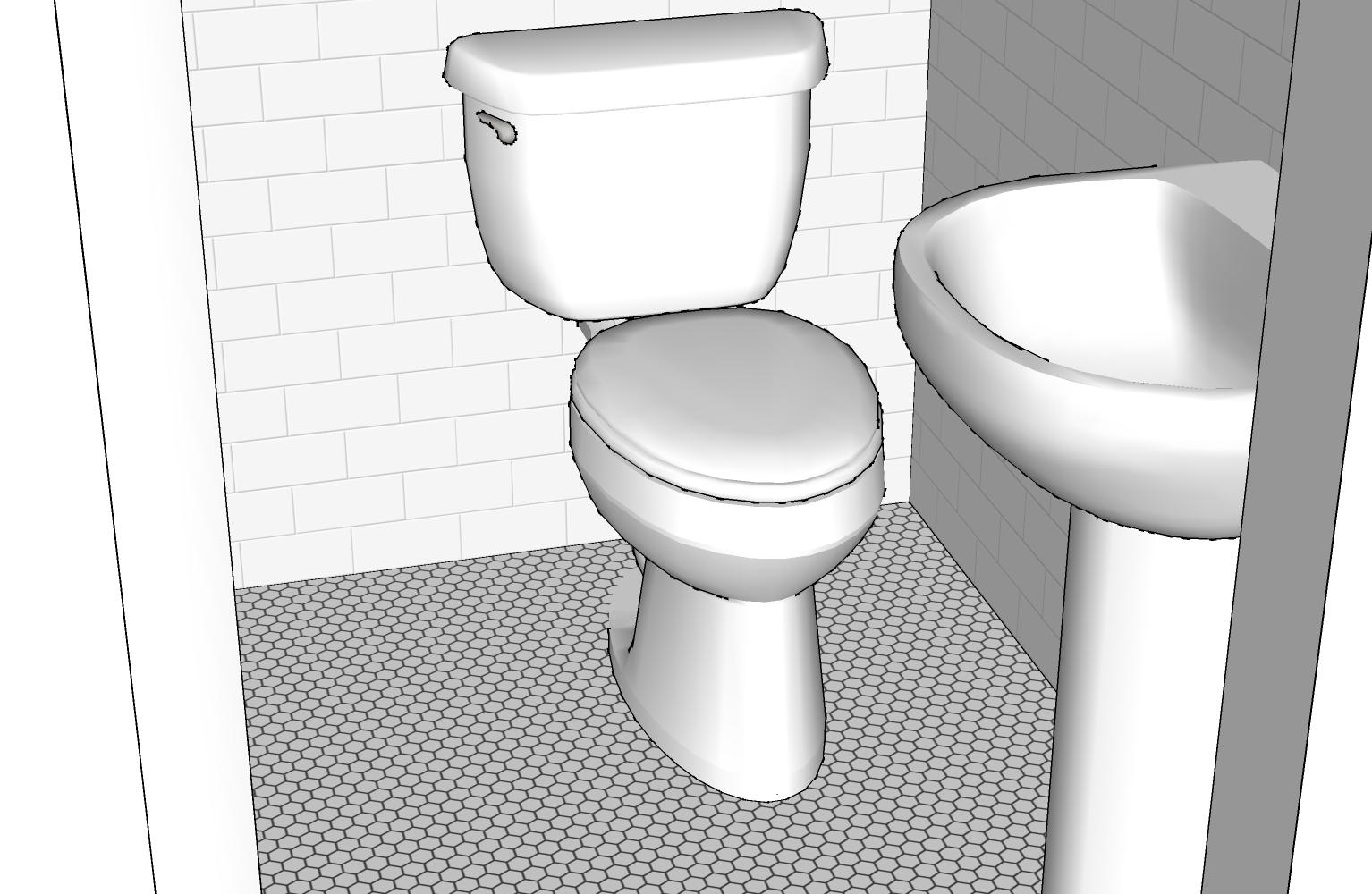 Occupy wolf street sketchup bathroom for Sketchup bathroom sink