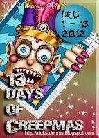 13 days of creepmas