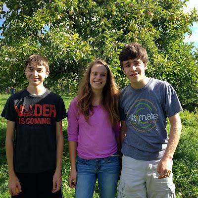 3 teenagers