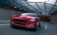 Ford EVOS Concept Front end in motion