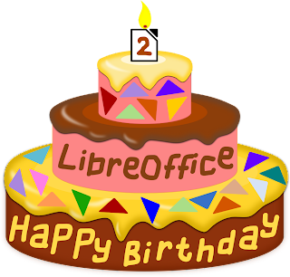Happy birthday, Libreoffice