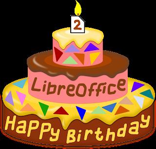 Happy birthday, Libreoffice