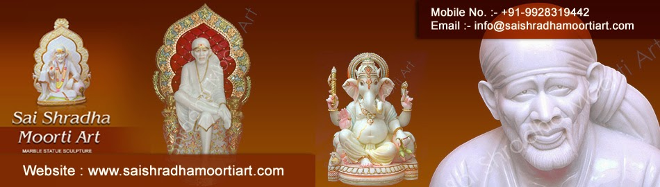 Indian Marble God Statues Manufactures from Sai Shradha Moorti Art In Jaipur