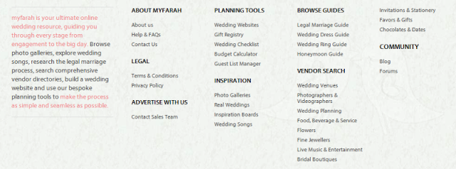 trusted online wedding resource in the Middle East