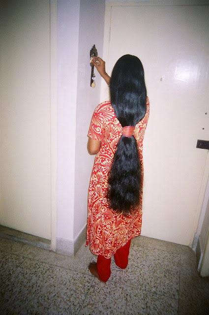 loose lovely long hair