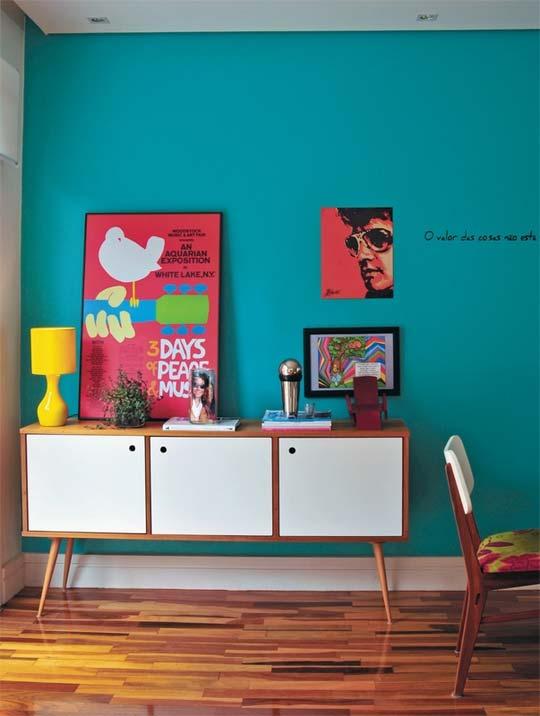 Дизайн интерьера: красочный дом в Бразилии
