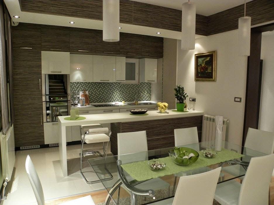 desain dekorasi dapur dan ruang makan minimalis modern