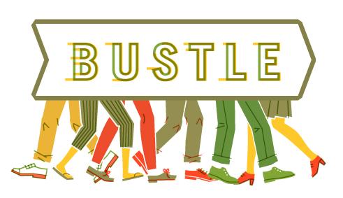 Hustle and Bustle Print on Design Inspiration