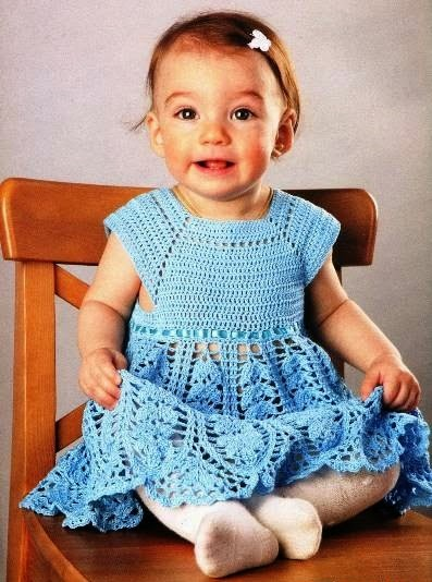 Free Crochet Patterns And Video Tutorials Crochet Baby Girl Dress