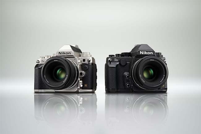 Nikon Df, cámara digital, retro, full frame