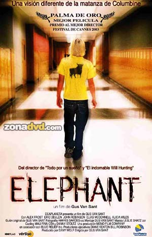 a report on elephant a movie by gus van sant First thing's first: gus van sant's elephant, though a rapturous and terrifying memorial to the columbine massacre, brings nothing to the discussion on high-school violence.