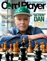 Dan Harrington on the cover of 'CardPlayer' (Vol. 20, No. 24, December 11, 2007)