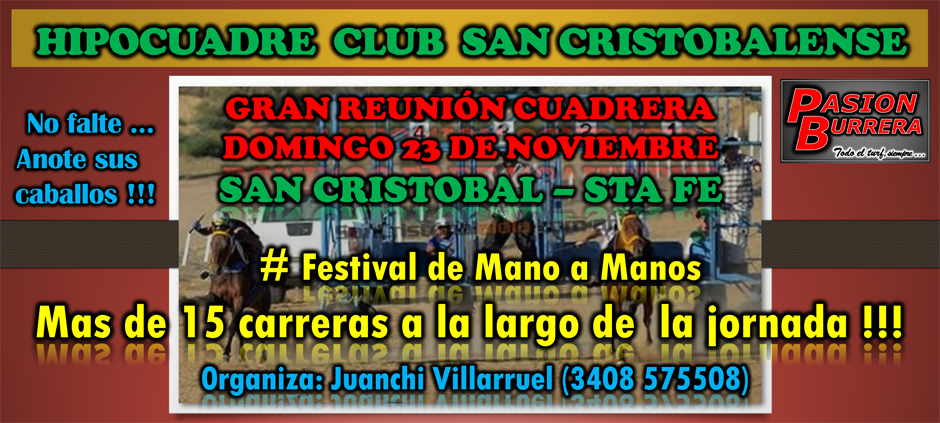 SAN CRISTOBAL - 23 NOV. 2014