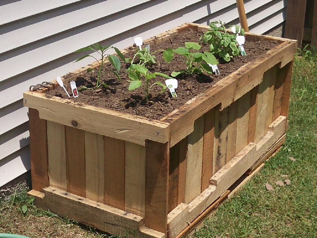 construir la jardinera lleva unas horas