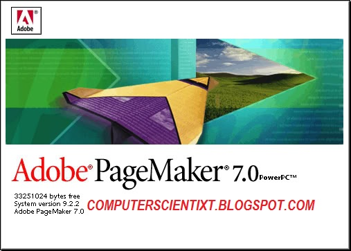 Adobe page Maker 7 Registered