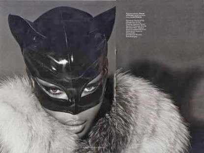 Fetish Inspirations : Naomi Campbell Is Cat woman